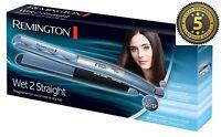 Remington S7200 Wet 2 Straight Use on Wet OR Dry Straightener Brand New