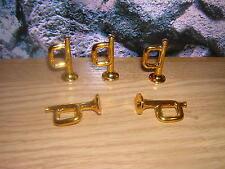 ( B 8 / 19 ) 5 x Trompette doré Western ACW Klicky 3354 3242 3408 3420 3388