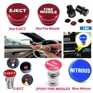 Universal Push Button Car Cigarette Lighter Replacement Accessories Car Decor
