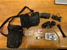 Sony Cyber-Shot DSC-W55, 7.2MP Digital Camera Silver with ALL Accessories