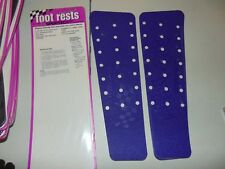 Sportech Non-Skid Foot Rest Pads For Skidoo F-2000, S-2000, CK3 Chassis Purple