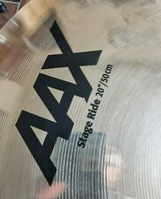 More details for sabian aax 20 inch stage ride cymbal