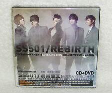 SS501 Rebirth Love Like This Taiwan Ltd CD+DVD+28P Booklet