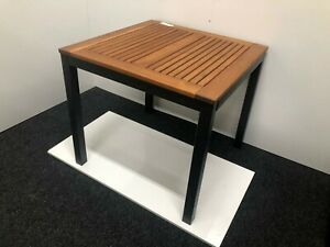 Ventura outdoor/indoor table Robinia Wood - Aluminium RRP £299