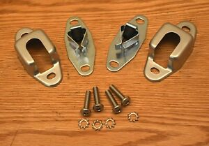 1955 1956 1957 CHEVY REAR SEAT LATCHES & COVERS  STATION WAGON