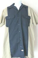 Vintage DICKIES ROCKABILLY Swingers Work SHIRT MENS Button Shirt Coca Cola