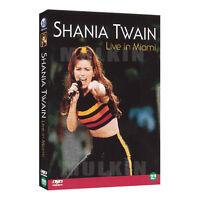 Shania Twain DVD - Live in Miami (2001) DVD - (*New *Sealed *All Region)