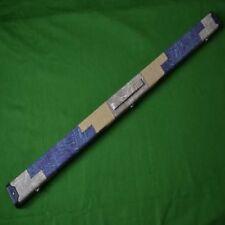 Handmade 3/4 Denim Design Snooker Cue Case - Blue/Mustard and Cream