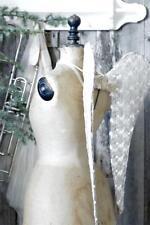 Jeanne D´Arc Living Engel Flügel 60 B Ware Offwhite Angel Wings Vintage Shabby