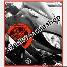 STICKER for TMAX 500 Stickers 3D pigtailed years 2008-11 Black Red