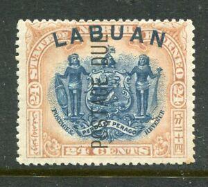 LABUAN....   Postage Due  1901  24c coat of arms,  mint