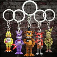 FNAF Five Nights At Freddy's Video PC Game Keyrings Keychains Toys Mini Figures