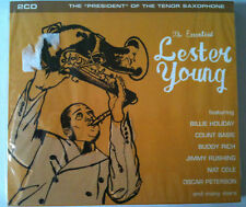 "LESTER YOUNG - ""THE PRESIDENT"" OF THE TENOR - 2 CD NEUF"