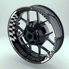 "Felgenaufkleber Motorrad Premium Wheelsticker Wheelskins""Triumph SpeedtripleV2"""