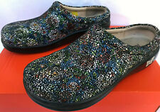Alegria Kayla Pro Cathedral Mule KAY-391 Leather Slip-On Clogs Shoes Women's 7.5