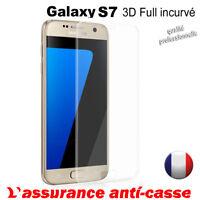 Vitre protection verre trempé film protecteur écran Galaxy S8 A8 A8+ Plus S7