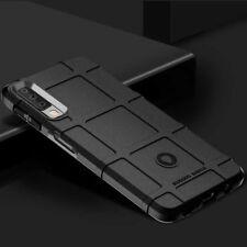 Für Samsung Galaxy A7 A750F 2018 Shield Series Outdoor Schwarz Tasche Hülle Case