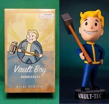 "Fallout 4 Vault Boy 5"" Melee Weapons 111 Bobblehead (Series #1) NIB Vault-Tec"
