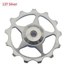 13T 2pcs Bicyel Derailleurs Alloy Jockey Wheels Pulley Bearing For Shimano SRAM