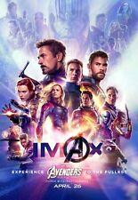 Avengers Endspiel Movie Poster (C) 11 X 17 Avengers Poster