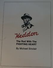 Heddon Rod With Fighting Heart Softcover 1st Ed Bamboo Fly Rod Book NOS