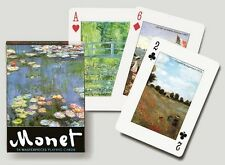 Monet single deck By Piatnik Playing Cards