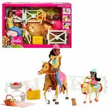 Reitspaß | Barbie Puppen brünett | Spielset & Accessoires | Mattel FXH16