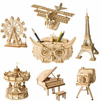 Rolife 3D Wooden Puzzle Model Building Toy Laser Cut Crafts Toy Gift for Kids