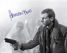 Harrison Ford Sci-Fi Classic Film Blade Runner Photograph Autograph 8x10 Reprint