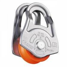PETZL OSCILLANTE SWING CHEEK CLIMBING RESCUE PULLEY P02