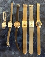 - Assorted Styles & Colors Six Vintage Timex Electric Womens Watches