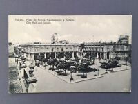 ±1915 Postcard CUBA HABANA HAVANA Plaza Armas Senado City Hall Senate - Jordi 34