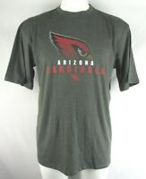 Arizona Cardinals Men's Gray Team Apparel Short Sleeve T-Shirt NFL
