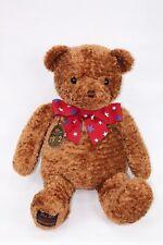 "Gund. Wish Bear 2002 100th Anniversary Brown w/ Red,White,Blue Ribbon large 26"""