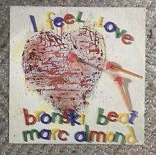 "Bronski Beat feat Marc Almond I Feel Love 12"" Vinyl Single Excellent Condition"
