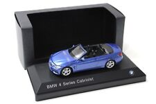 1:43 iscale BMW 4er 435i Cabrio ESTORIL Blue SP spacciatori NEW in Premium-MODELCARS