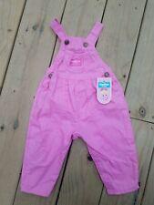 18M NWT Vintage Oshkosh Bgosh Overalls Made USA Pink...