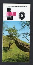 c1970s Advertising Leaflet: Northumberland National Park: The Roman Wall