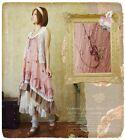 New Japanese Mori Girl Sweet Vintage Lolita Falbala Suspenders Elegant Dress #9