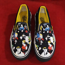 VANS Circle Jerks Classic Slip On Men US 7.5 Women US 9 EU 40 Limited Edition
