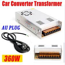 AC 240V to DC 12V 360W 30A Car Power LED Converter Transformer Adapter AU Plug