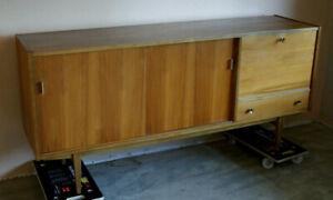 Vintage Sideboard 50er 60er Jahre Mid Century Danish Design Kommode Highboard