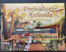 Grenada 2005 / Prehistoric Animals -Diplodocus,Velocirap tor . / 4v minisheet