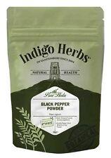 Black Pepper Powder - 50g - Indigo Herbs, Quality Assured