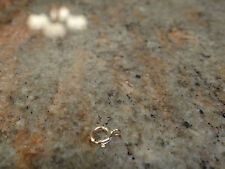 14kt Yellow Gold 6mm Spring Ring Clasp