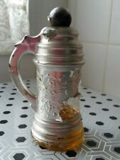 RARE VINTAGE AVON SILVER BEER MUG COLOGNE PERFUME COLLECTABLE RETRO OLD
