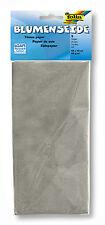 Blumenseide - 50 X 70 Cm 5 Bogen Silber