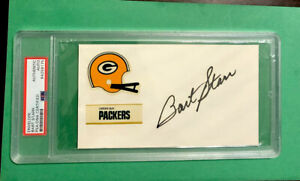 Bart Starr Signed Envelope - PSA/DNA Authenticated - PACKERS