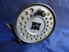 A GOOD VINTAGE HARDY VISCOUNT 140 TROUT FLY REEL WITH CASTLE LOGO SPOOL