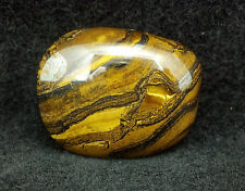 """Tumbled Medium Tiger Iron-The""""Round -To-It"""" Stone,Crystal Healing-1510A"""